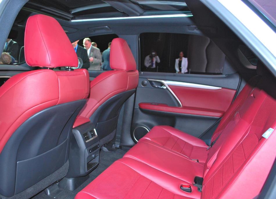 интерьер Lexus RX 2015 - 2016