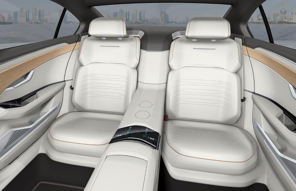 интерьер VW C Coupe GTE Concept 2015