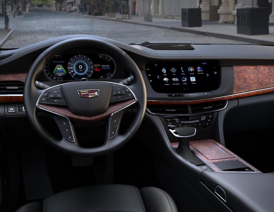 салон Cadillac CT6 2016
