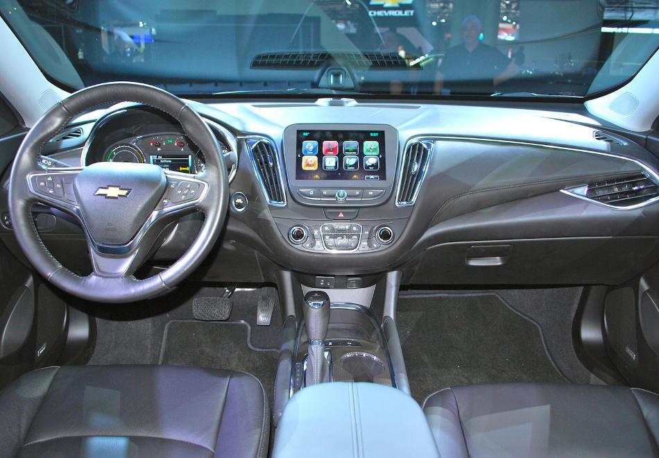 салон Chevrolet Malibu 2015 - 2016