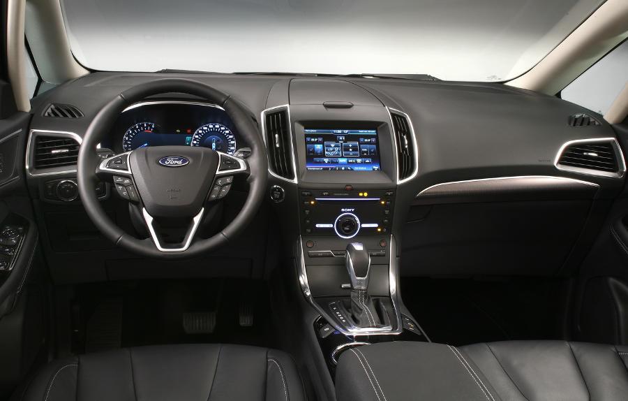 салон Ford Galaxy 2016