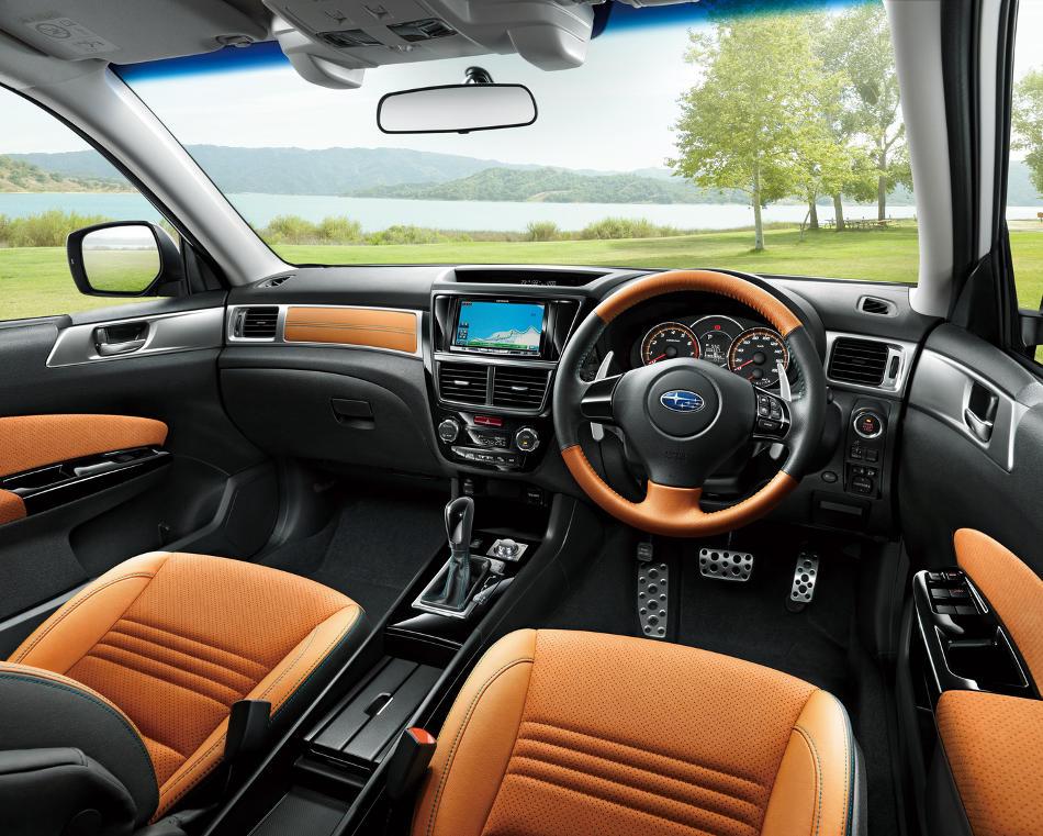 салон Subaru Exiga Crossover 7