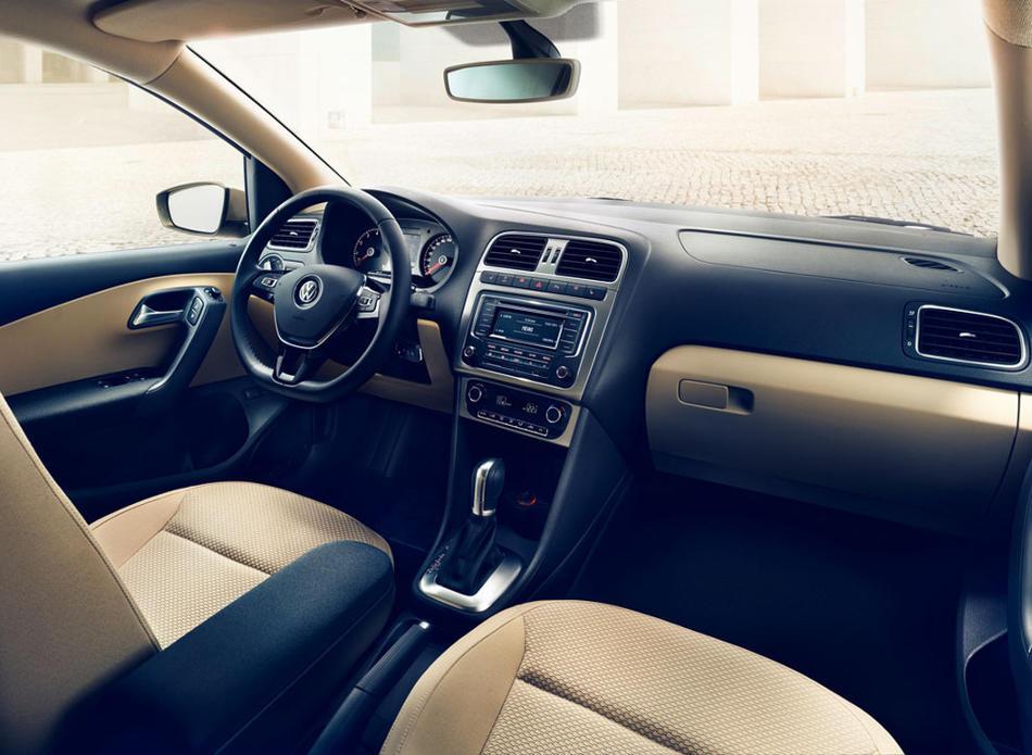 салон нового Volkswagen Polo Седан 2016