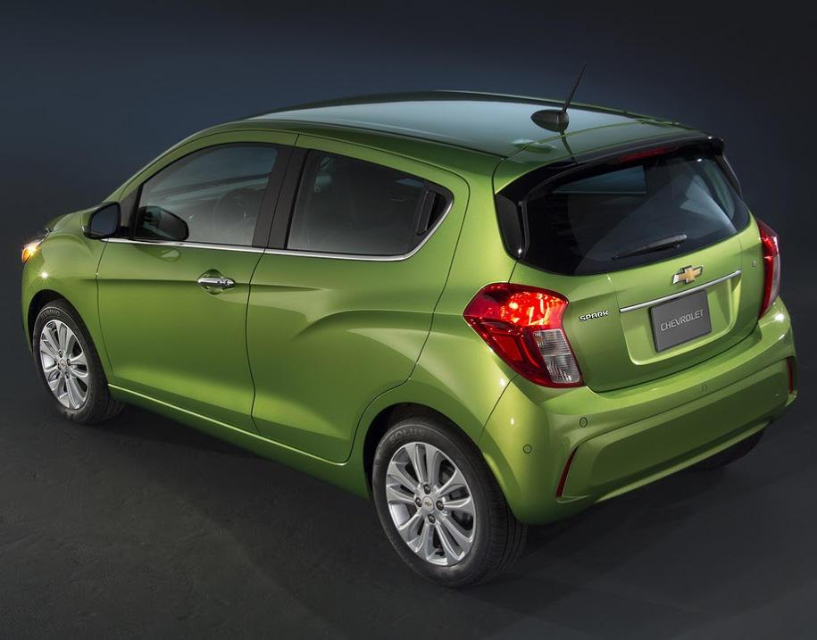 задние фонари Chevrolet Spark 2016