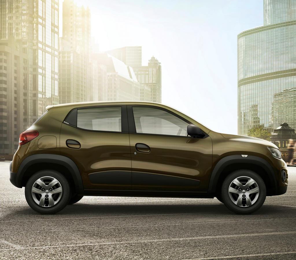Renault Kwid 2016 сбоку