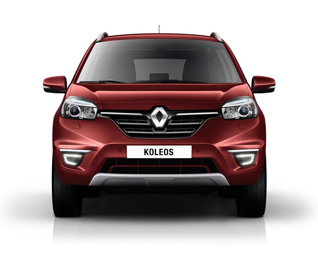бампер и фары нового Renault Koleos 2015