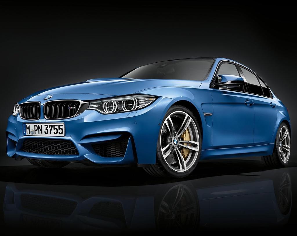 фото BMW M3 Sedan 2016