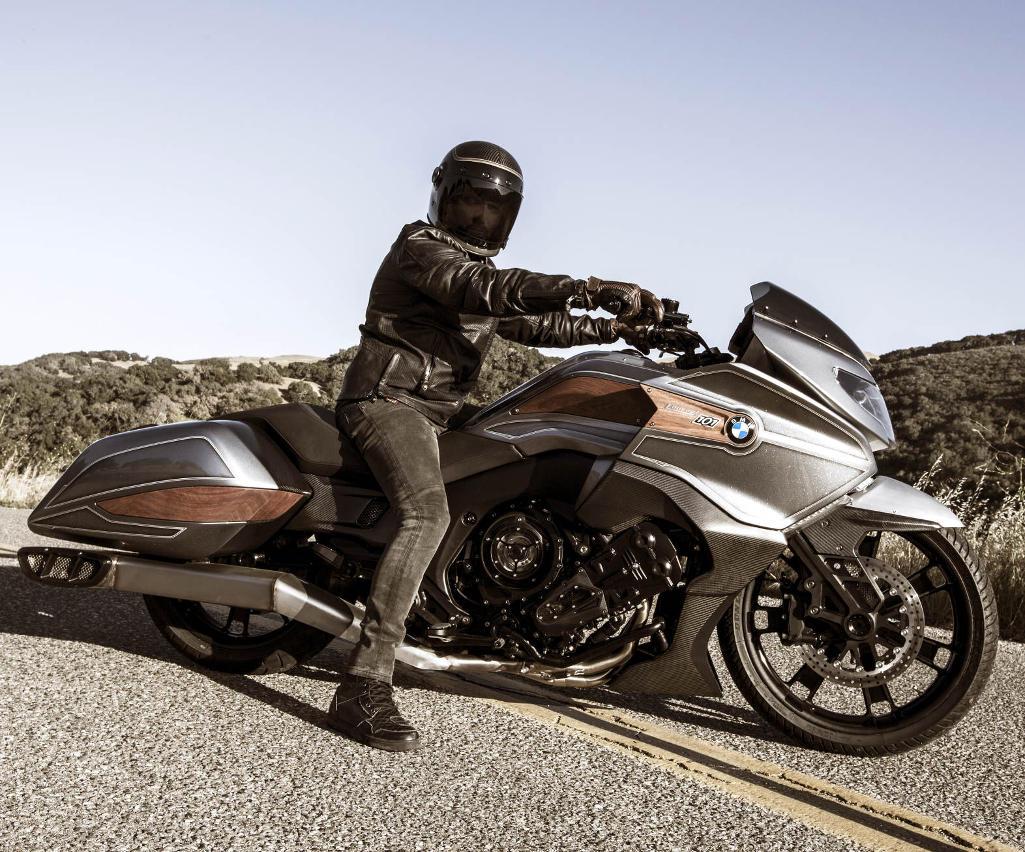 новый BMW Motorrad Concept 101