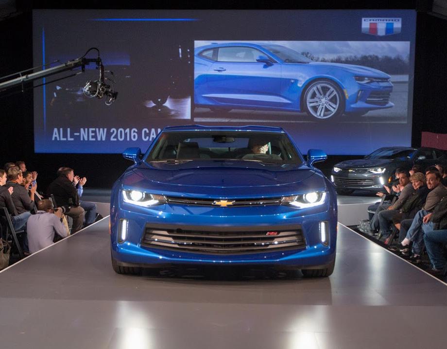 новый Chevrolet Camaro 2016 года