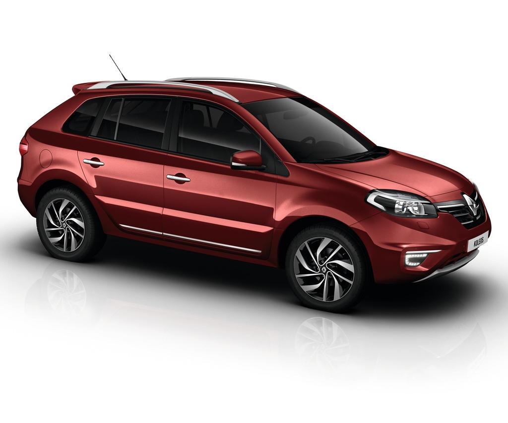 новый Renault Koleos 2015 - 2016 сбоку