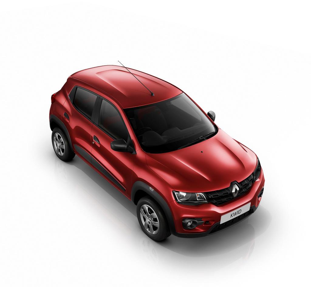 новый Renault Kwid сверху