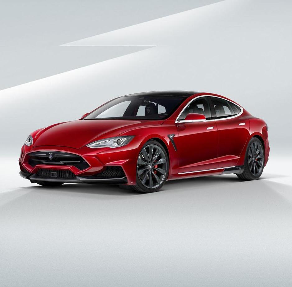 обвес Tesla Model S от LARTE Design