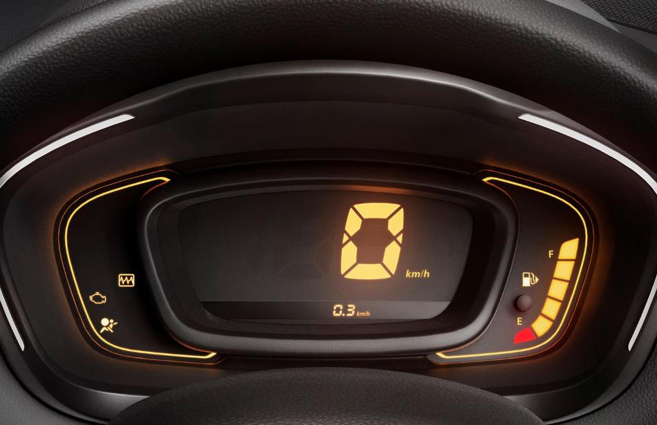 панель приборов Renault Kwid 2016