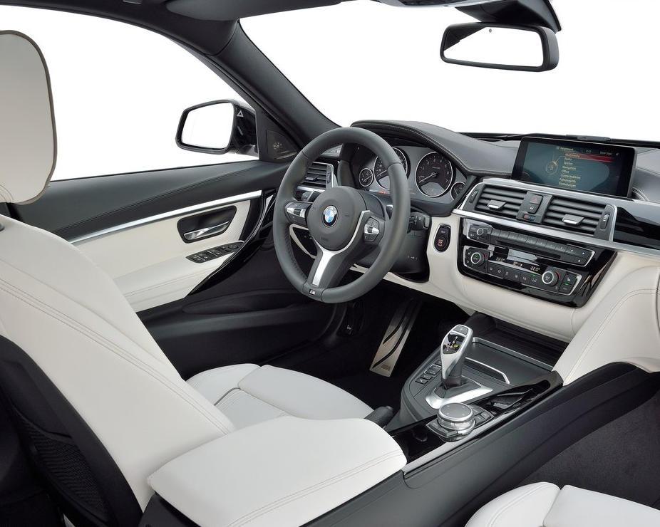 салон BMW 3-Series 2015-2016