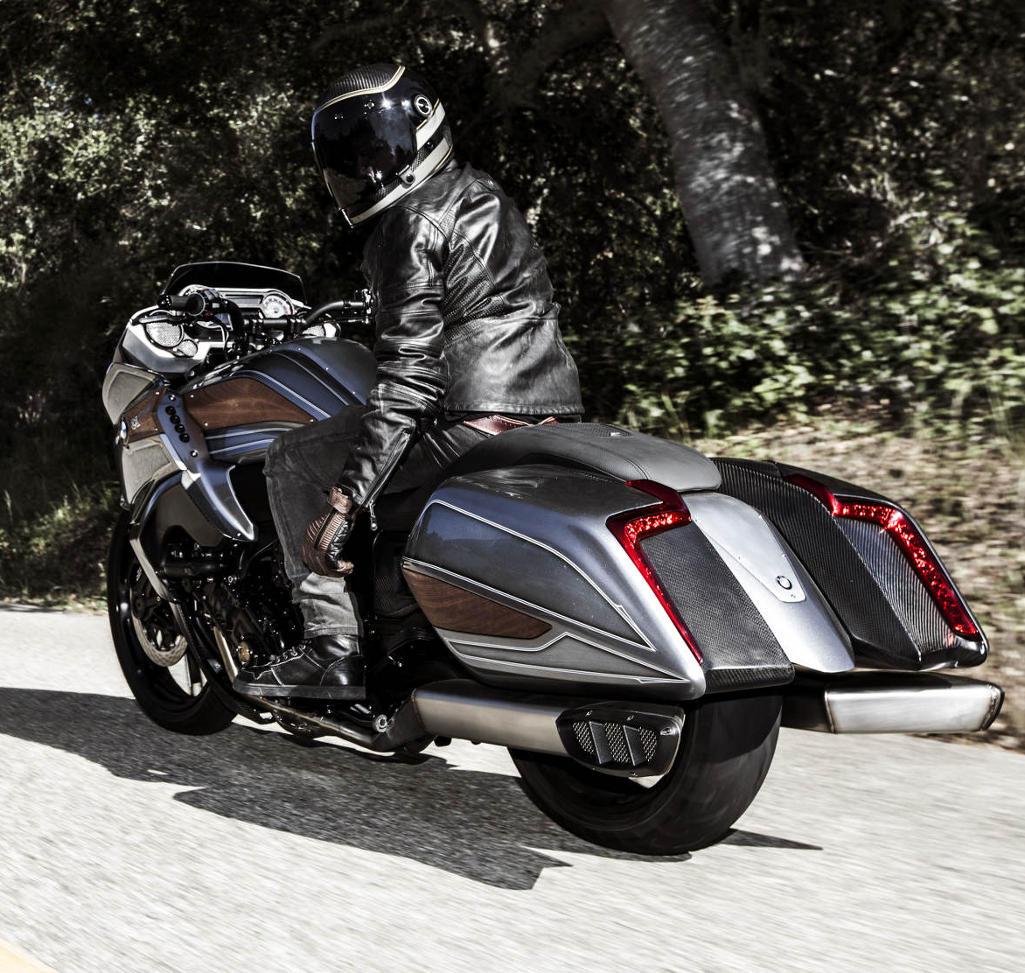 задние фонари БМВ Motorrad Concept 101