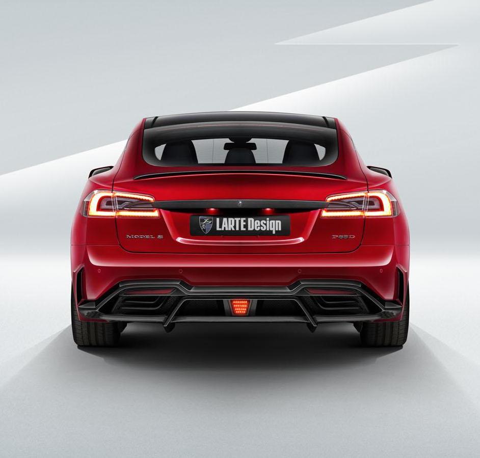 задние фонари Tesla Model S от LARTE Design