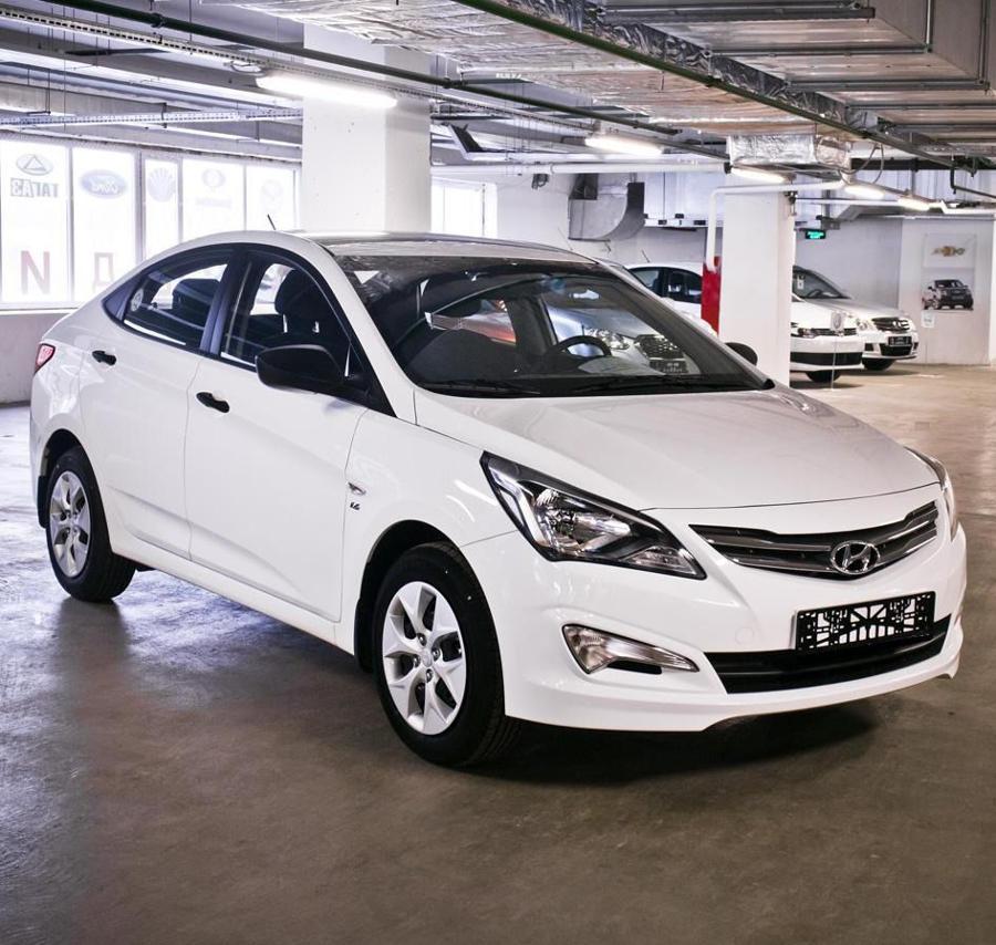 Hyundai Solaris - самый популярный авто в мае 2015