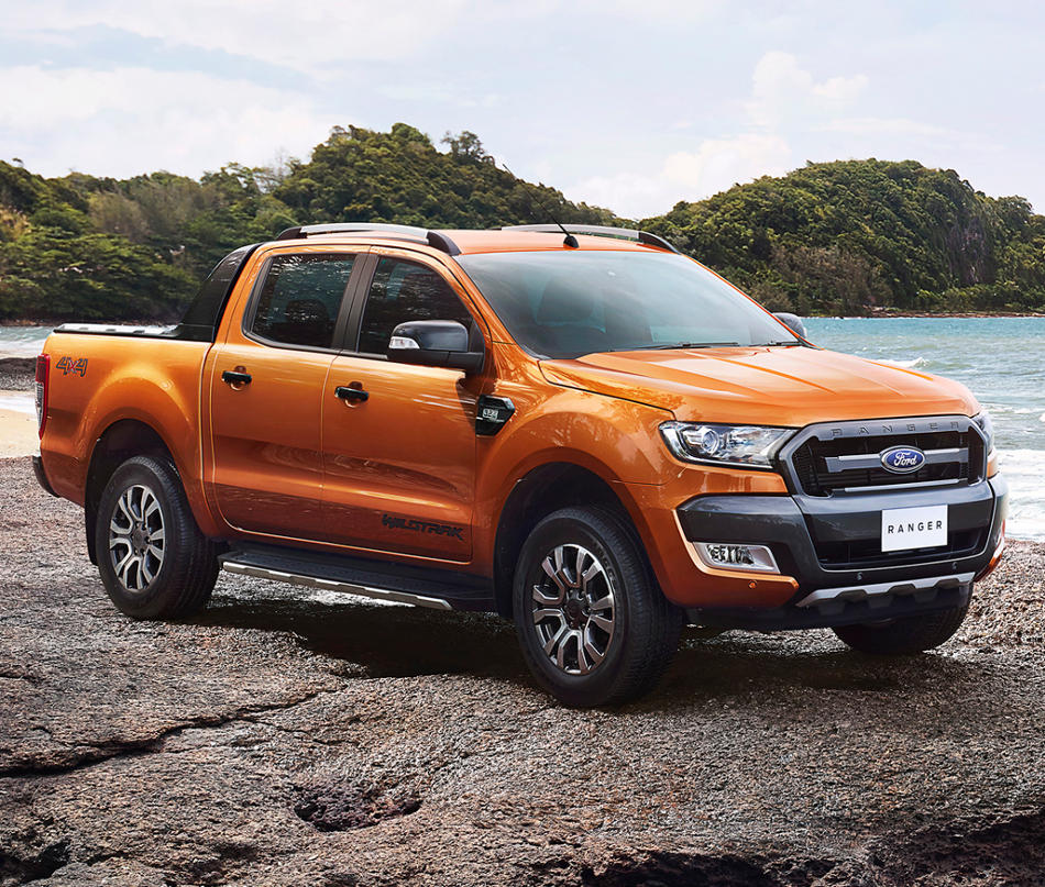 фары и бампер Ford Ranger Wildtrak 2016