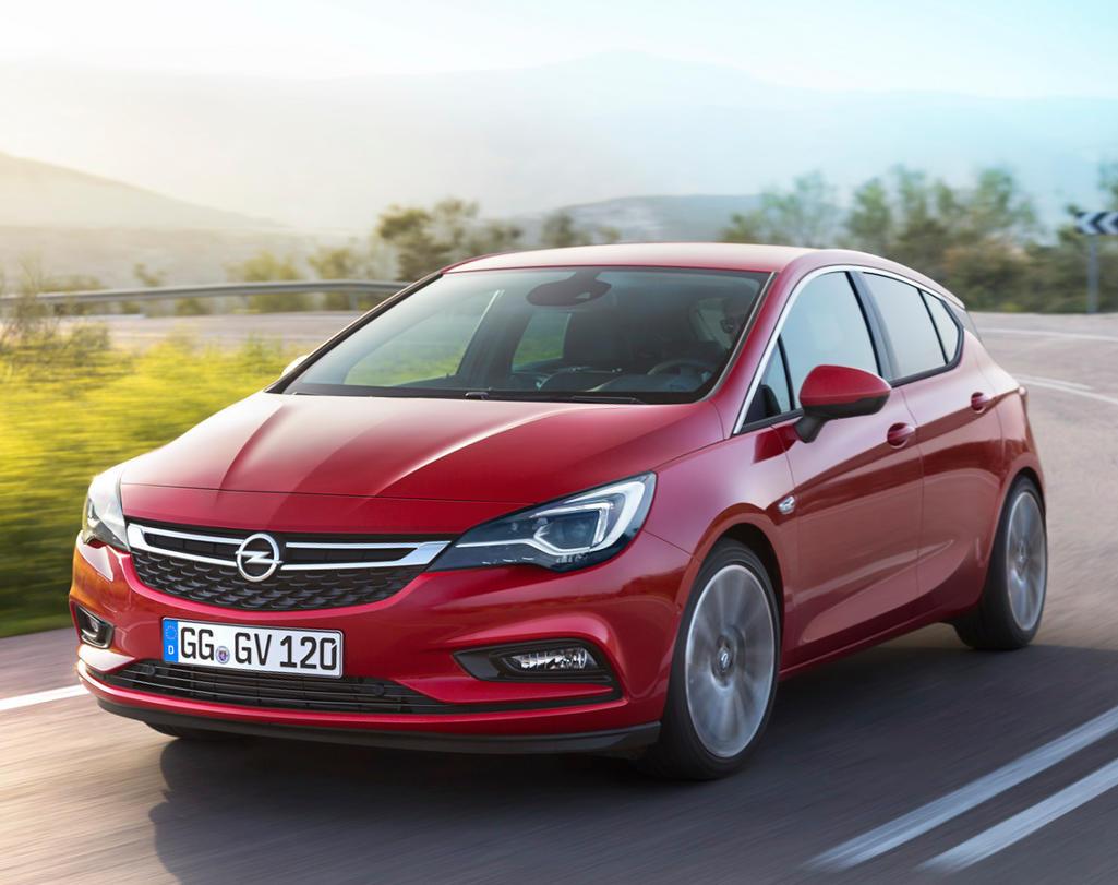 фото Opel Astra Хетчбэк 2016