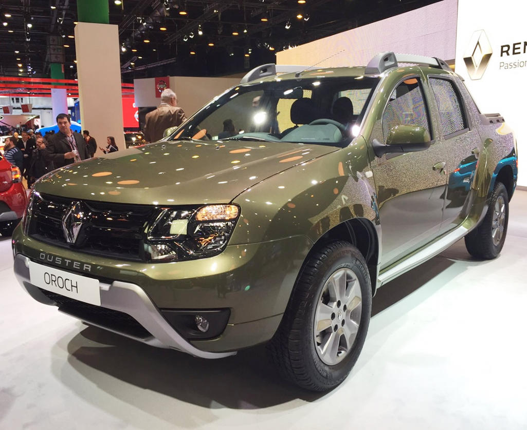 фото Renault Duster Oroch 2016