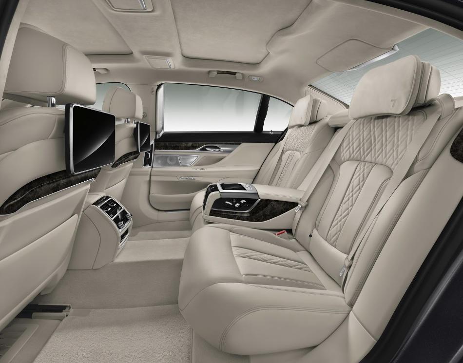 интерьер BMW 7-Series 2016