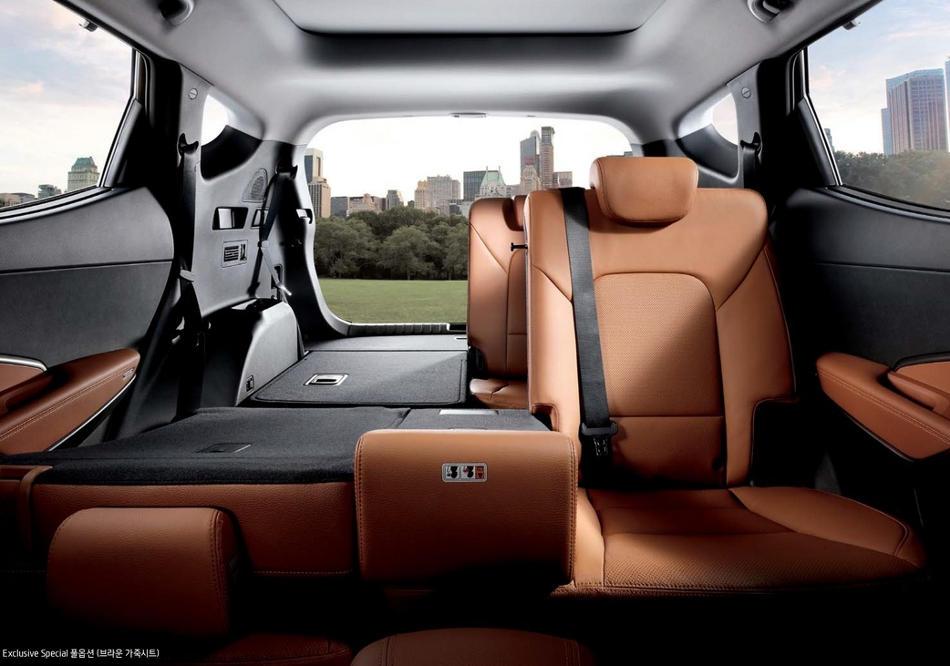 интерьер Hyundai Santa Fe Prime 2016