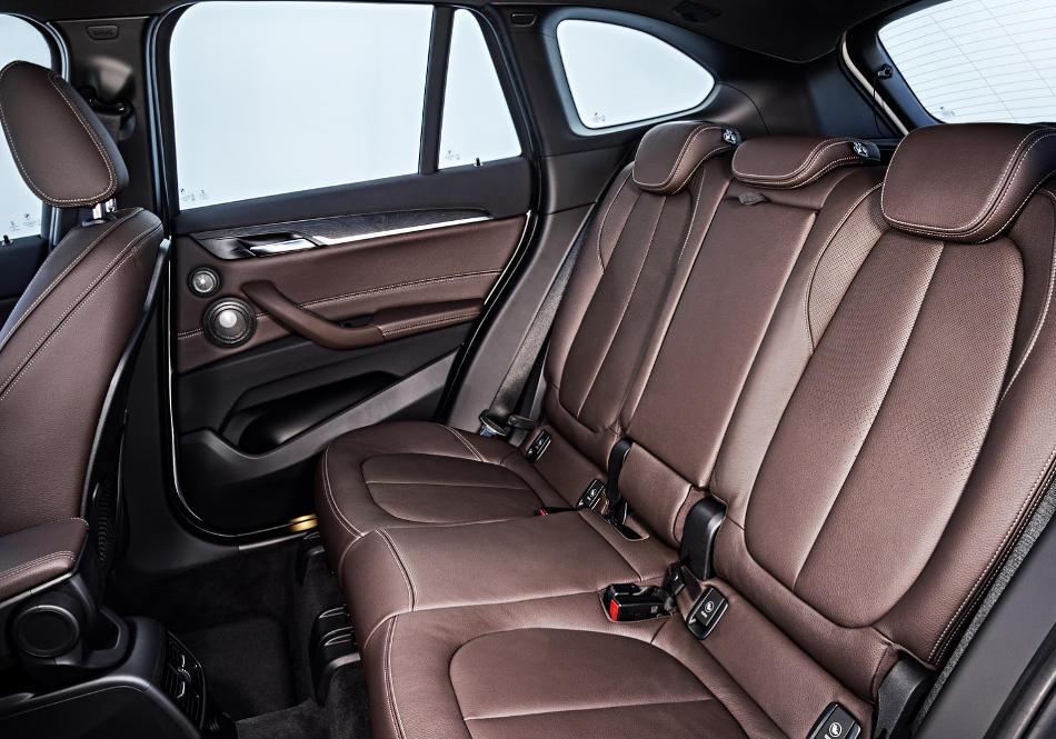 интерьер нового BMW X1 2016