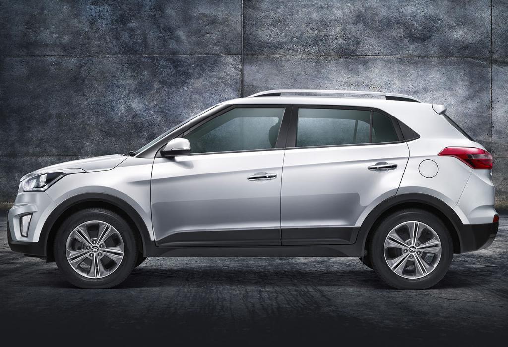 новый Hyundai Creta сбоку