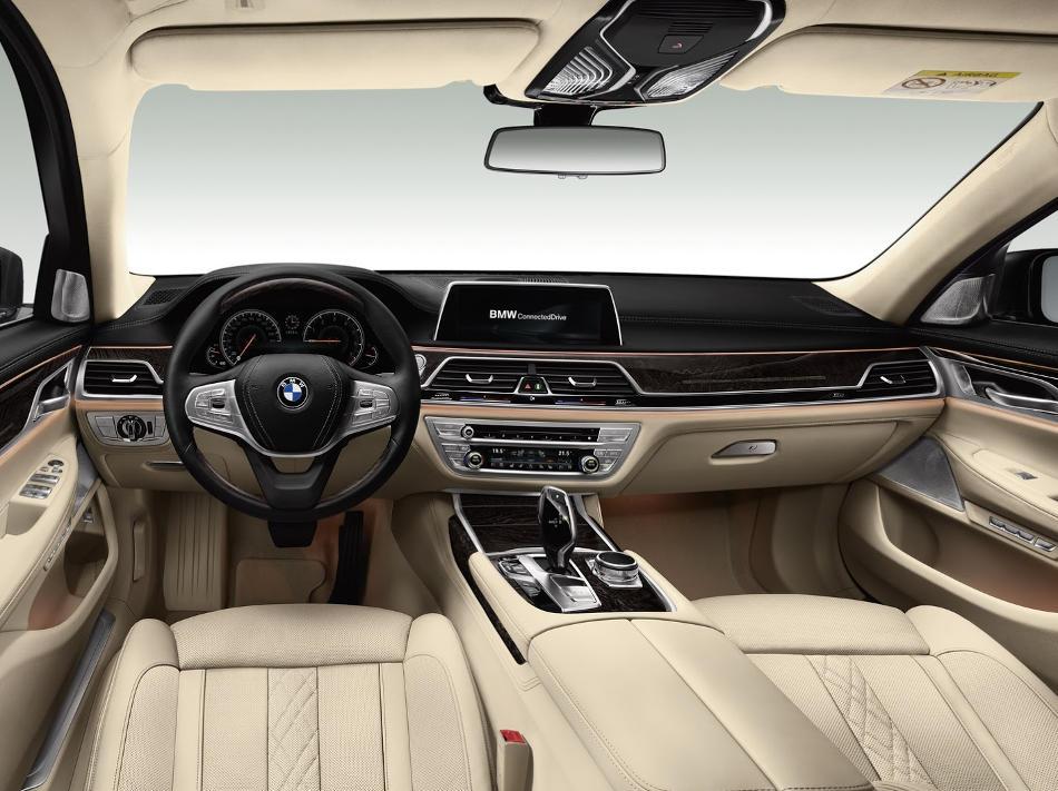 салон BMW 7-Series 2016