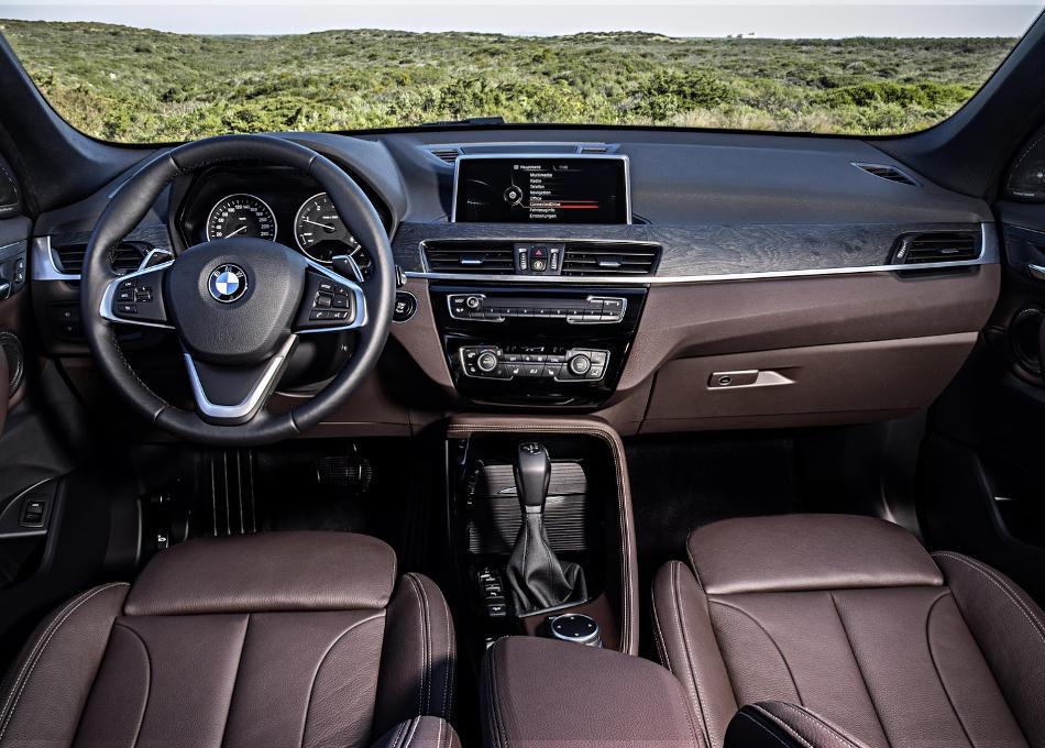 салон BMW X1 2016