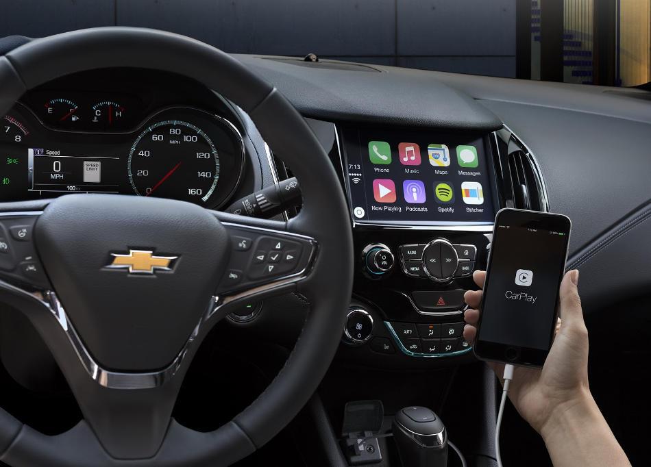 салон Chevrolet Cruze 2016