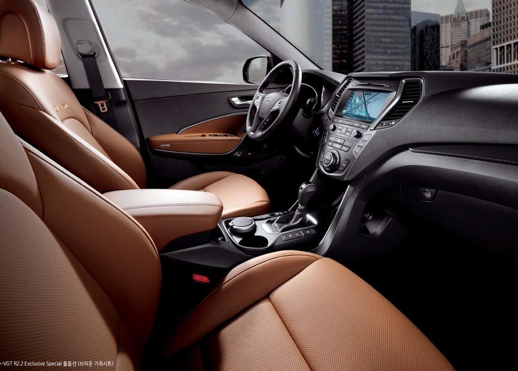салон Hyundai Santa Fe Prime 2016