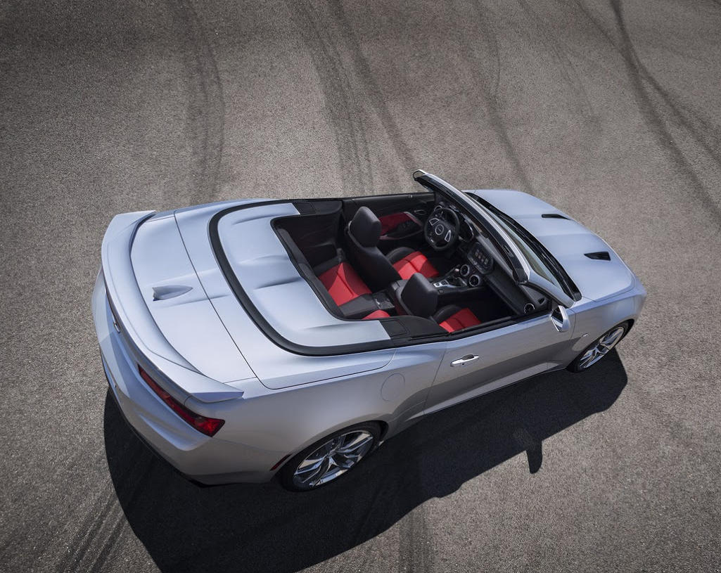 салон Кабриолет Chevrolet Camaro 2016