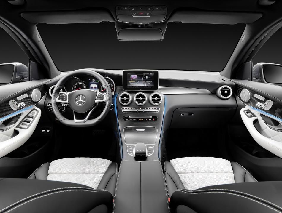 салон Mercedes GLC 2016