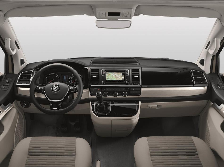 салон Volkswagen California 2016