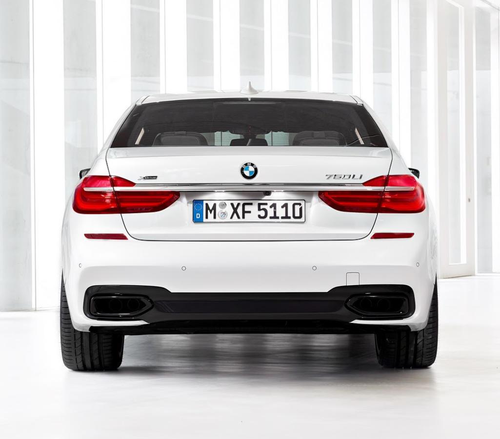 задние фонари BMW 7-Series 760LI 2016
