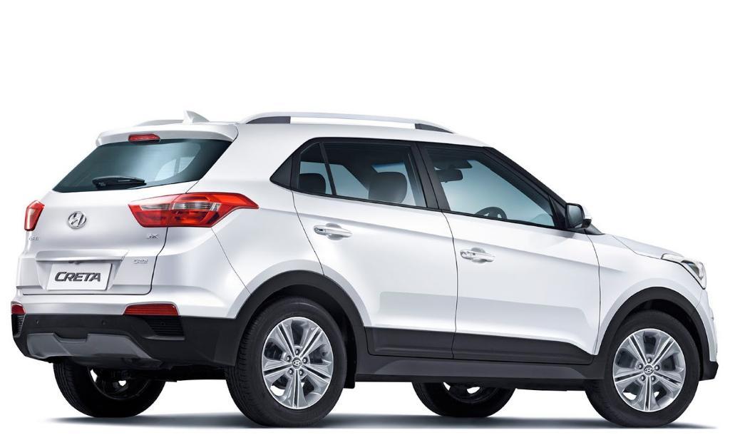задняя часть Hyundai Creta 2016