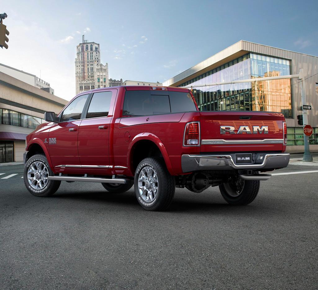 2016 Ram 2500 Heavy Duty Laramie Limited