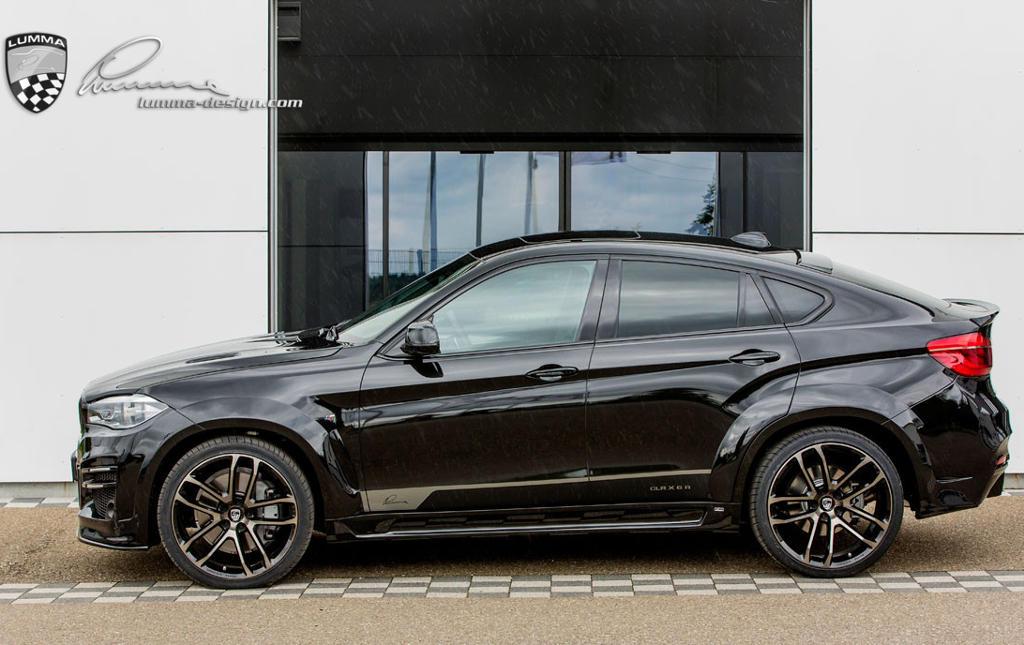 BMW X6 2015 от Lumma Design сбоку