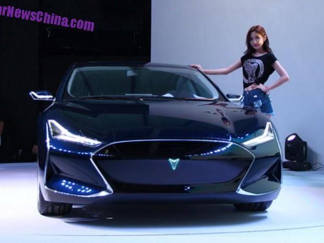 электромобиль Youxia X фото