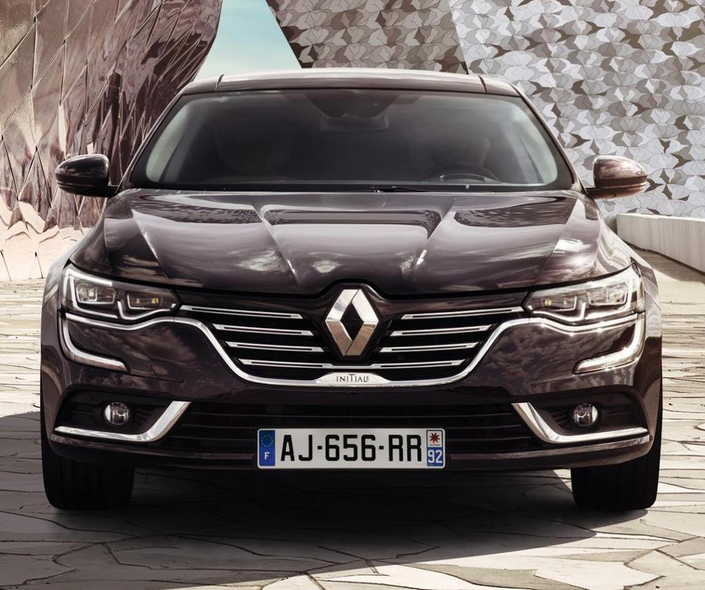 фары и бампер Renault Talisman 2016