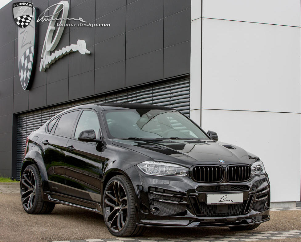 фото BMW X6 2015 от Lumma Designфото BMW X6 2015 от Lumma Design