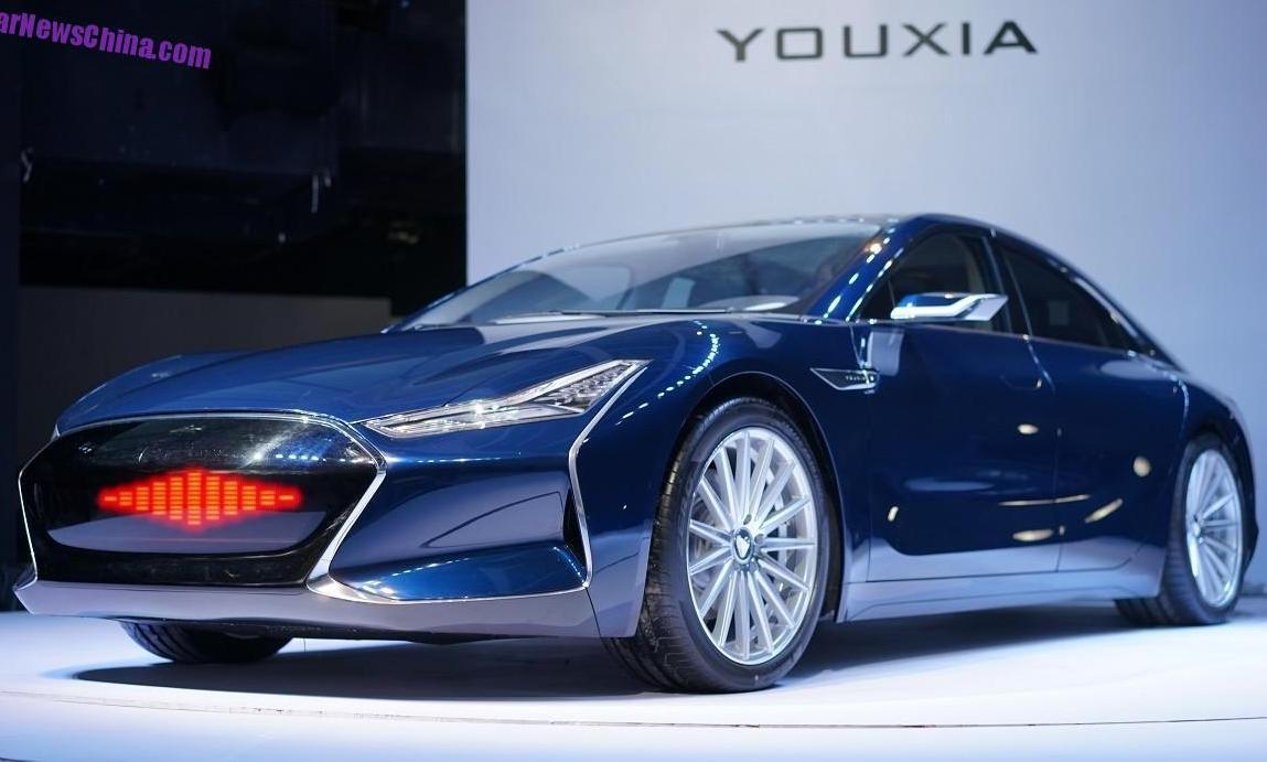 фото электромобиля Youxia X