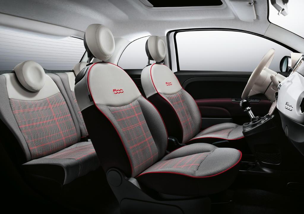интерьер Fiat 500 2016