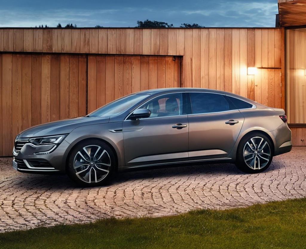 новый Renault Talisman 2016 сбоку