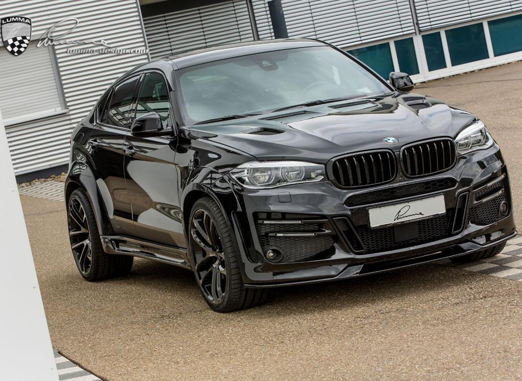 обвес BMW X6 2015 от Lumma Design