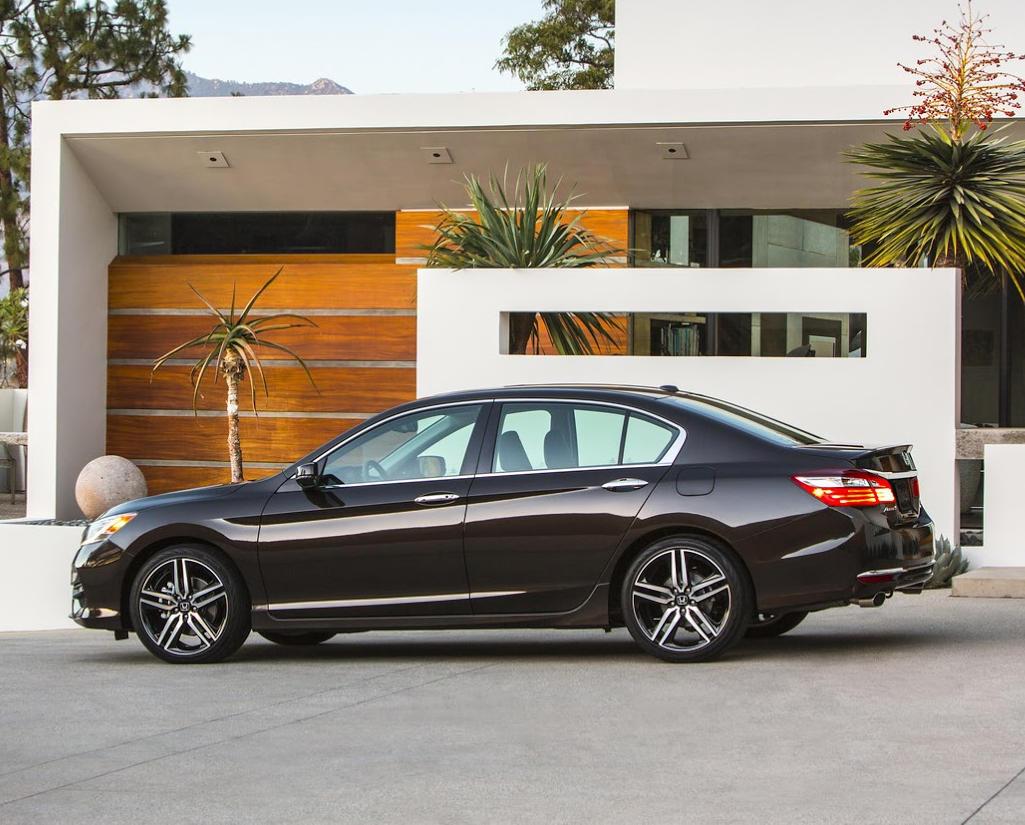 рестайлинг Honda Accord 2016
