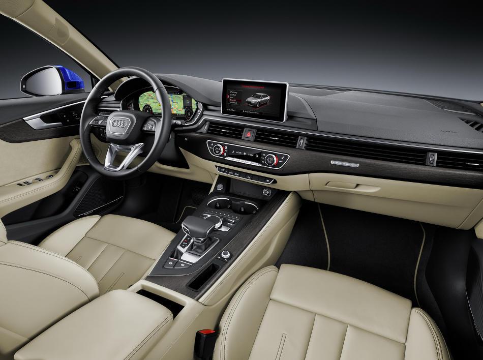 салон Audi A4 (B9) 2016