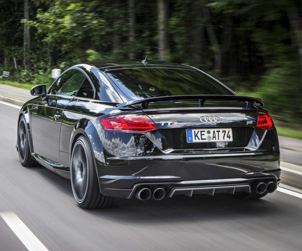 задняя часть Audi TTS 2015 ABT