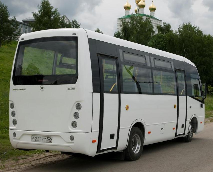 задняя часть ПАЗ-2256 «Вектор-3»